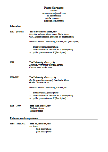 how - How To Write A Excellent Resume